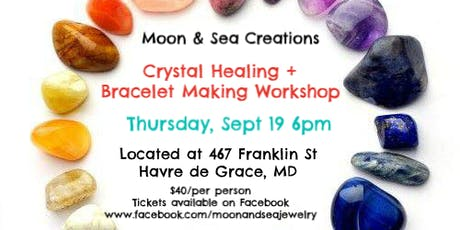 Crystal Healing + Bracelet Making Workshop tickets