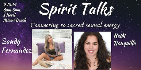 Spirit Talks Summer Series tickets