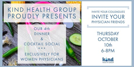 4th Women Physicians Dinner & Social tickets