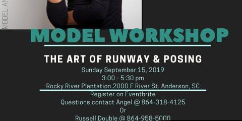 Model Workshop: The Art of Runway & Posing