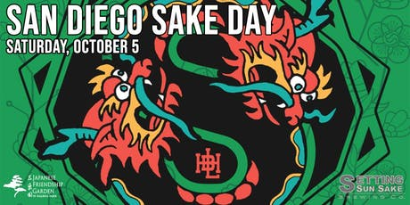 San Diego Sake Day at the Japanese Friendship Garden tickets