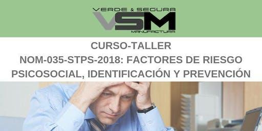 NOM-035-STPS-2018: Factores de riesgo psicosocial, identificación y prevención