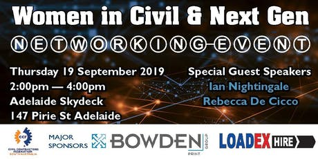CCF SA WIC & Next Gen Networking Event 2019 tickets