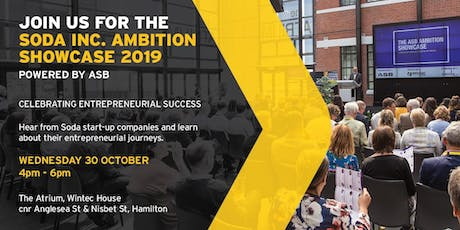 Soda Inc. Ambition Showcase - Powered by ASB tickets