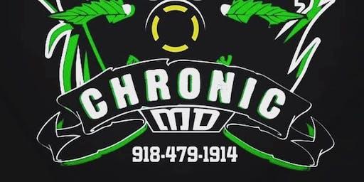Aug 23 Chronic MD 10am-3pm Locus Gove