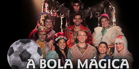 """Desconto! Espetáculo Infantil """"A Bola Mágica"""" no Teatro Jardim Sul ingressos"""