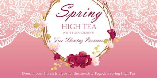 Spring High Tea Launch