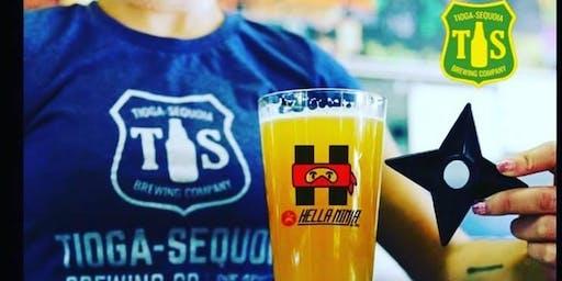 Beer & Appetizer Tasting featuring Tioga Sequoia