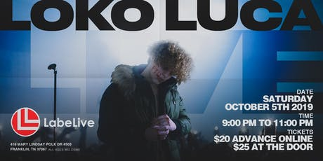 LOKO LUCA - LIVE IN CONCERT tickets