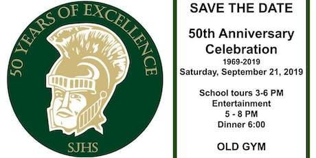 SJHS 50th celebration 1969-2019 tickets