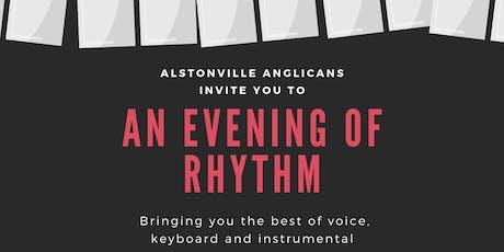 An evening of rhythm tickets