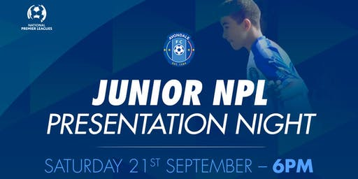 Junior NPL Presentation Night