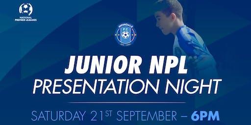 Junior NPL Presentation Night