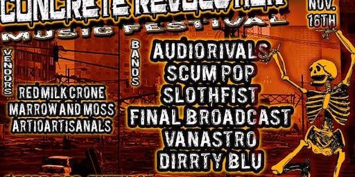Concrete Revolution Music Festival