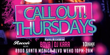 Call Out! Thursdays-Weekly Women's Party LGBTQ tickets