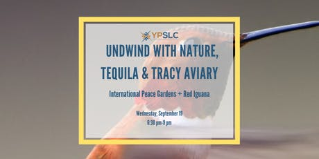 Unwind with Nature, Tequila & Tracy Aviary tickets