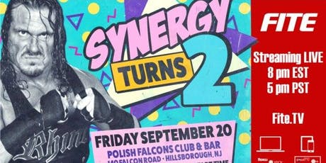 Synergy 90s Birthday Party starring Rhyno: Live on FITE tickets