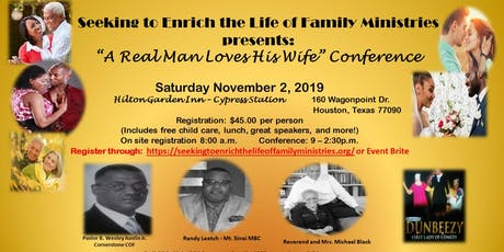 A Real Man Love His Wife Conference tickets