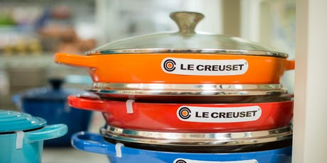 CAST IRON COOKING WITH LE CREUSET tickets