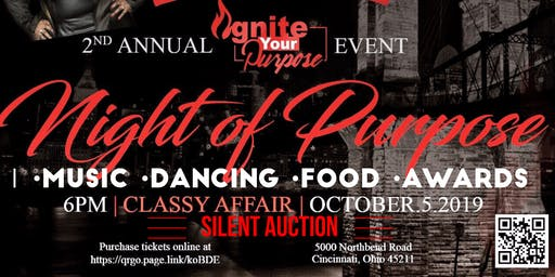 2nd Annual Ignite Your Purpose Awards/Fundraiser