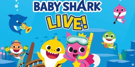 """DESCONTO! Espetáculo Oficial """"Baby Shark Live"""" no Tom Brasil ingressos"""
