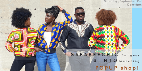 SAFAREECHIC 1st yr celebration - NTO launch POPUP tickets