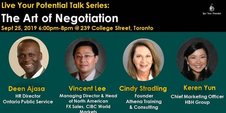 Live Your Potential Talk Series: The Art of Negotiation  tickets