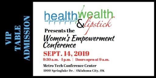 VIP Sponsor | Health, Wealth & Lipstick | Women's Empowerment Conference