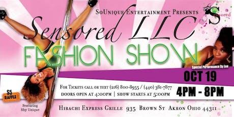 Sensored LLC FASHION SHOW tickets