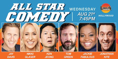 Ken Jeong, Nikki Glaser, Tom Green, and more - All-Star Comedy! tickets