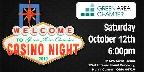 Green Area Chamber Casino Night tickets