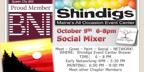 Artful Nights BNI Shindigs Social Mixer tickets