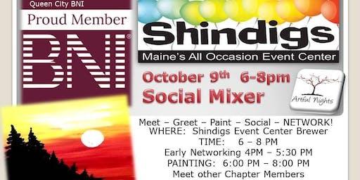 Artful Nights BNI Shindigs Social Mixer