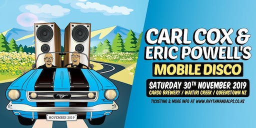 CARL COX & ERIC POWELL'S 'MOBILE DISCO' 2019