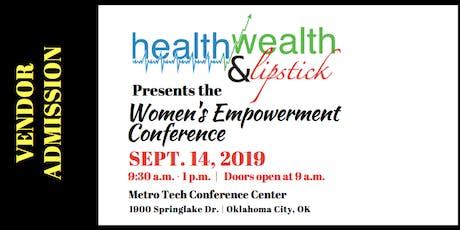Vendor | Health, Wealth & Lipstick | 2019 Women's Empowerment Conference tickets