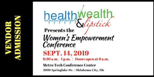 Vendor | Health, Wealth & Lipstick | 2019 Women's Empowerment Conference