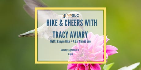 Hike & Cheers with Tracey Aviary tickets
