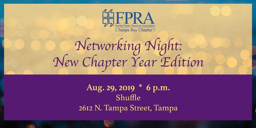 FPRA Tampa Bay: Networking Night and Installation of Officers