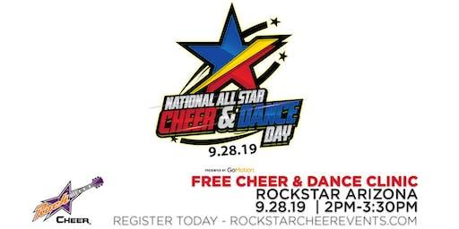 National All Star Cheer & Dance Day - FREE Clinic - Rockstar Arizona