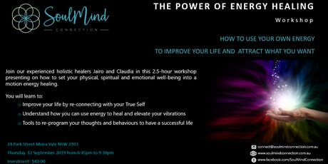 The Power of Energy Healing tickets