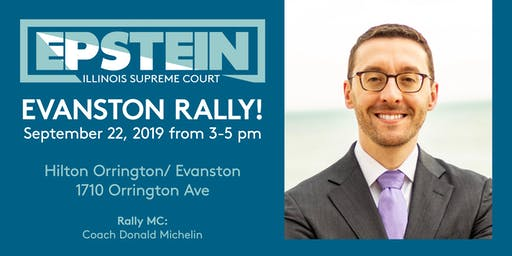 Epstein for Illinois Supreme Court Evanston Kickoff