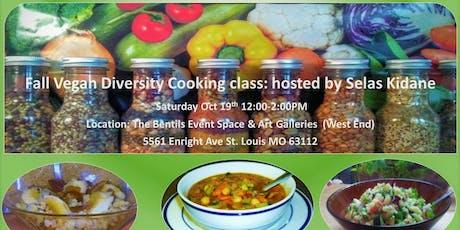 Fall Vegan Diversity Cooking Class tickets