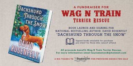 Author David Rosenfelt Book Launch- Fundraiser- WagNTrain Terrier Rescue tickets