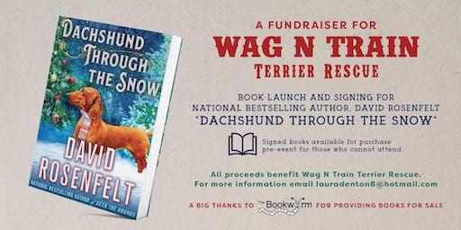 Author David Rosenfelt Book Launch- Fundraiser- WagNTrain Terrier Rescue