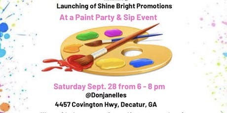 Paint Party & Sip Event tickets