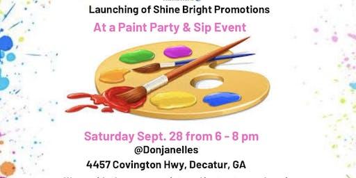 Paint Party & Sip Event