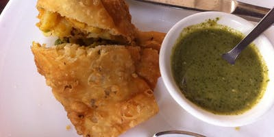 QUICK COOK - Samosas and Pickle