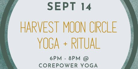 Harvest Moon Circle | Yoga + Ritual tickets