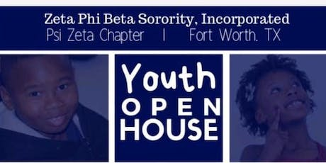 Psi Zeta Youth Open House tickets