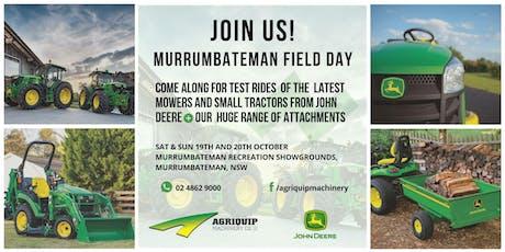 Murrumbateman Field Days | Murrumbateman NSW 2019 tickets